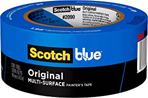 ScotchBlue Original Multi-Surface Painter's Tape, 2090, 1.88 inch x 60 yard, 1 Roll
