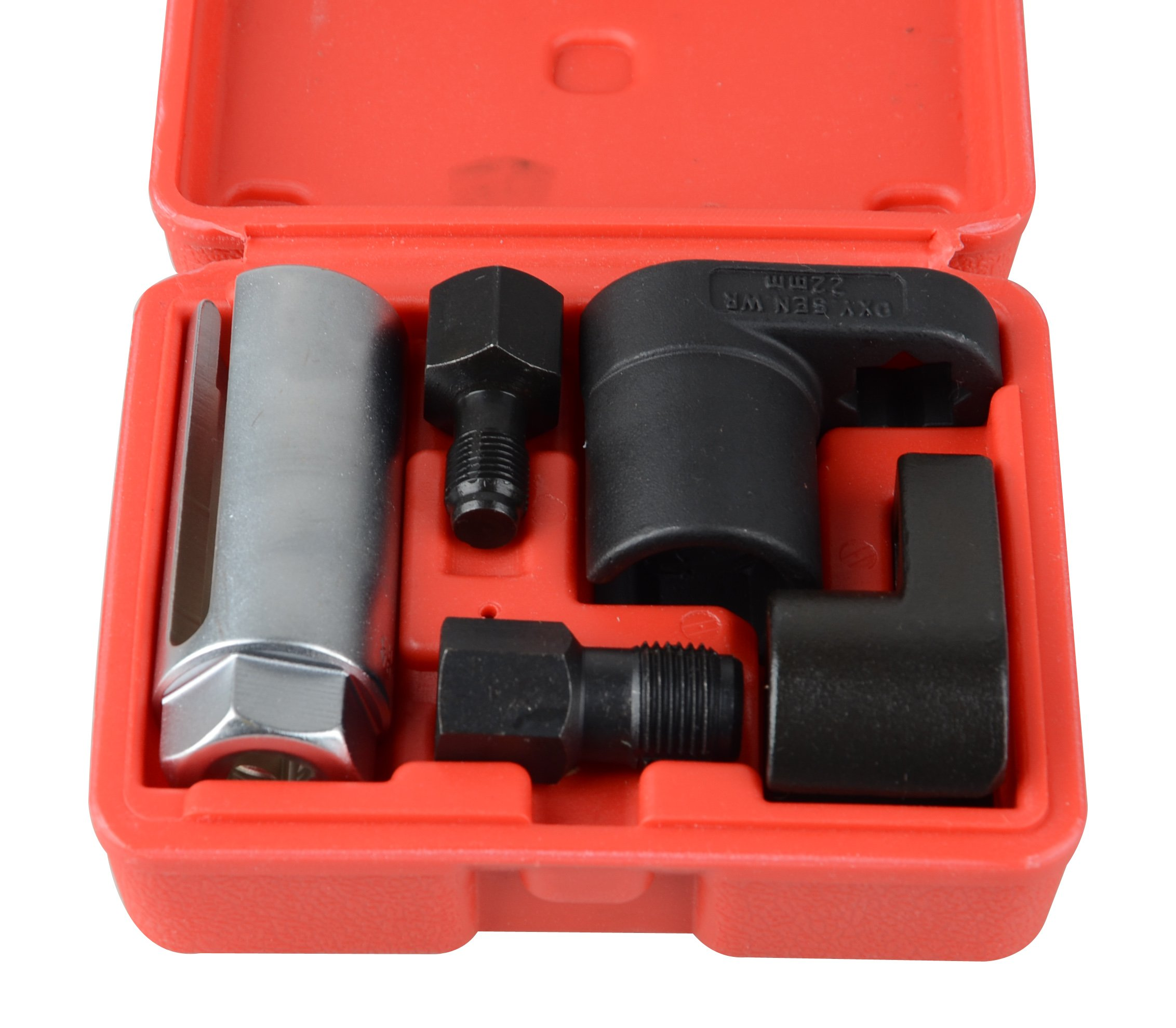 DA YUAN 5-Pieces Oxygen Sensor Socket Wrench and Thread Chaser Set