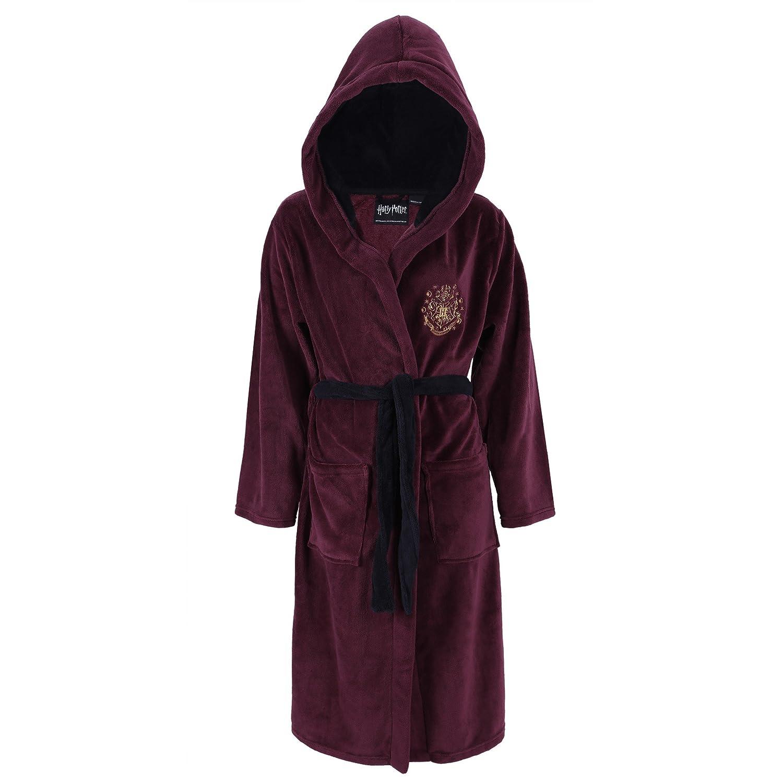 Soft & Fluffy, Burgundy Dressing Gown, Robe For Men Hogwarts Harry Potter Harry Potter - Hogwarts