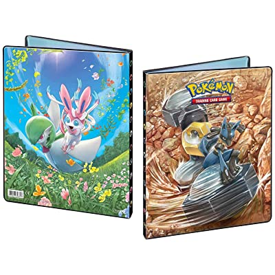 Pokémon 85880 Ultra Pro-9 Pocket Portfolio-Pokemon Sun and Moon 10, Accessoires: Toys & Games