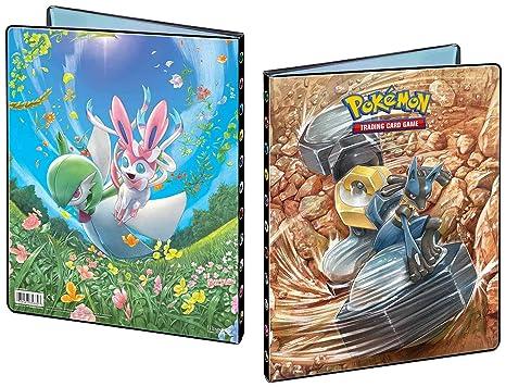 Pokemon - Libreta con diseño de Sol y Luna Alliance Infaillible (SL10), Capacidad de Almacenamiento: 252 Tarjetas, 85880, Accesorios