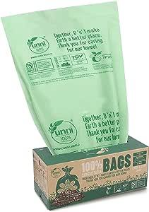 Amazon.com: UNNI ASTM D6400 100 % bolsas de basura ...