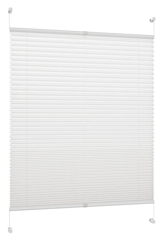 DecoProfi Plissee, Stoff, Stoff, Stoff, Weiß B00OXU07KQ Plissees d3d392