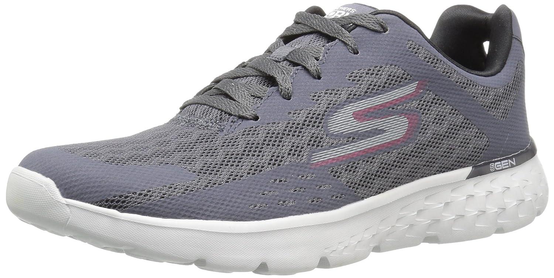 Skechers Performance Men's Go Run 400 Disperse Running Shoe B01J2Q4OYU 10.5 D(M) US|Charcoal/Red
