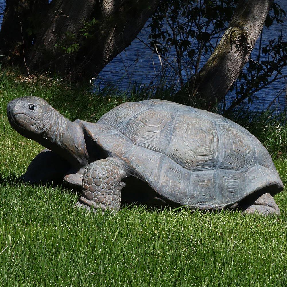 Sunnydaze Todd the Tortoise Indoor/Outdoor Garden Statue, 30 Inch Long by Sunnydaze Decor