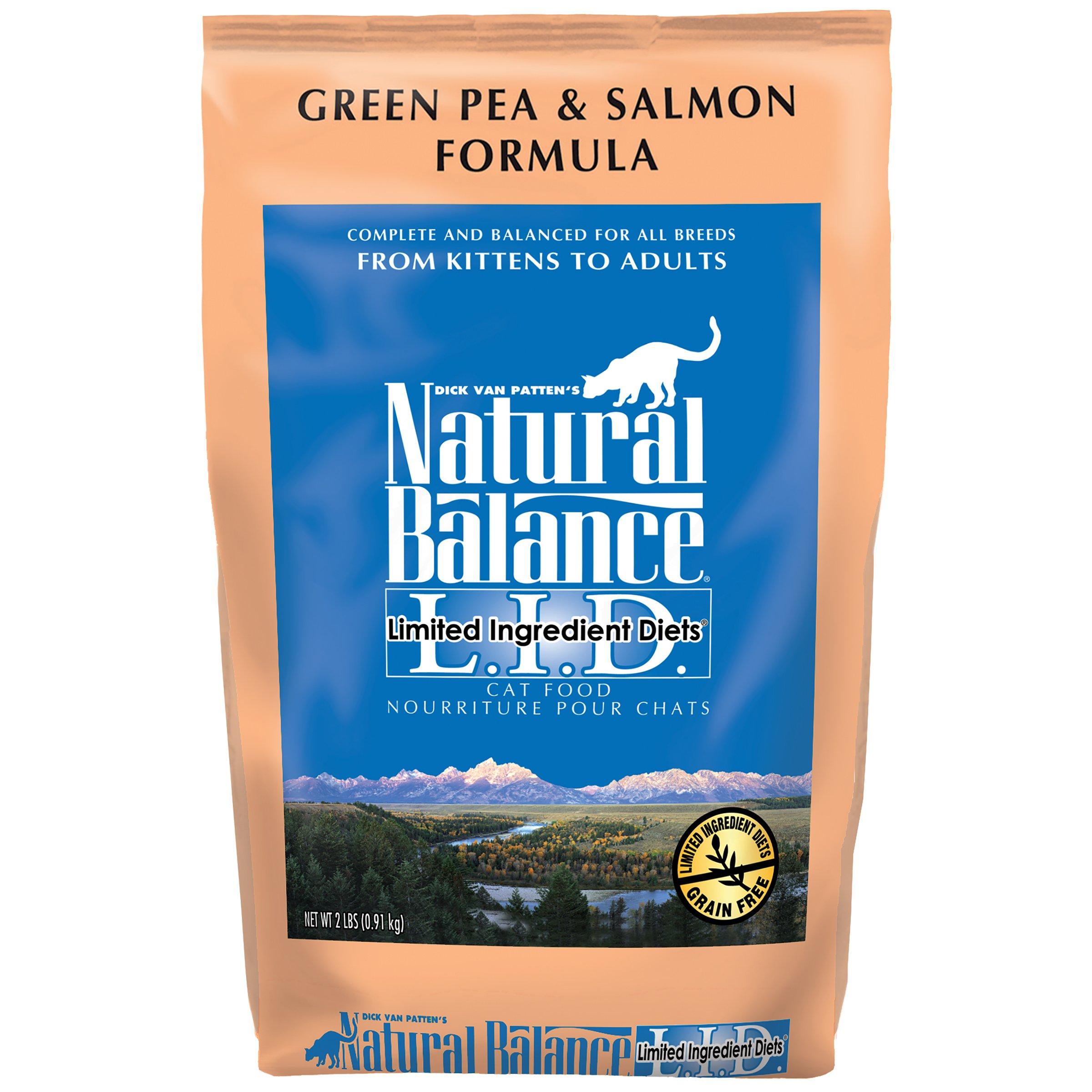 Natural Balance Green Pea And Salmon Cat Food