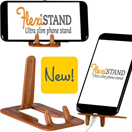 Gifts for Readers & Writers Soporte Flexible para teléfono móvil, Atril para Smartphone, Phablet, Tablets pequeñas, eReaders, iPhone, Samsung - Modelo Madera: Amazon.es: Hogar
