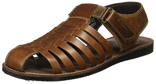c8a9cdd915a1a8 Red Tape Men s Leather Sandals  Buy Online at Low Prices in India ...