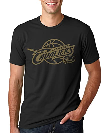 35937c2ada4 NBA Cleveland Cavaliers Golden Cavs Logo T-Shirt (Small)  Amazon.ca ...