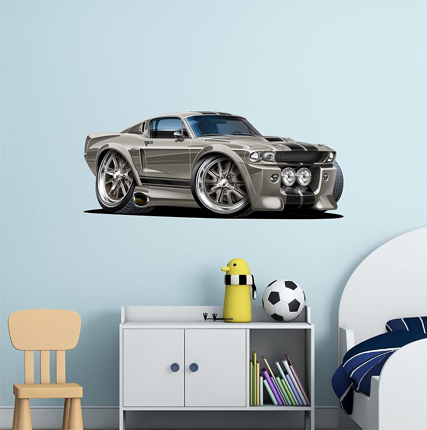 Amazoncom 48 Shelby Mustang Gt 500 Eleanor Wall Decal Ford