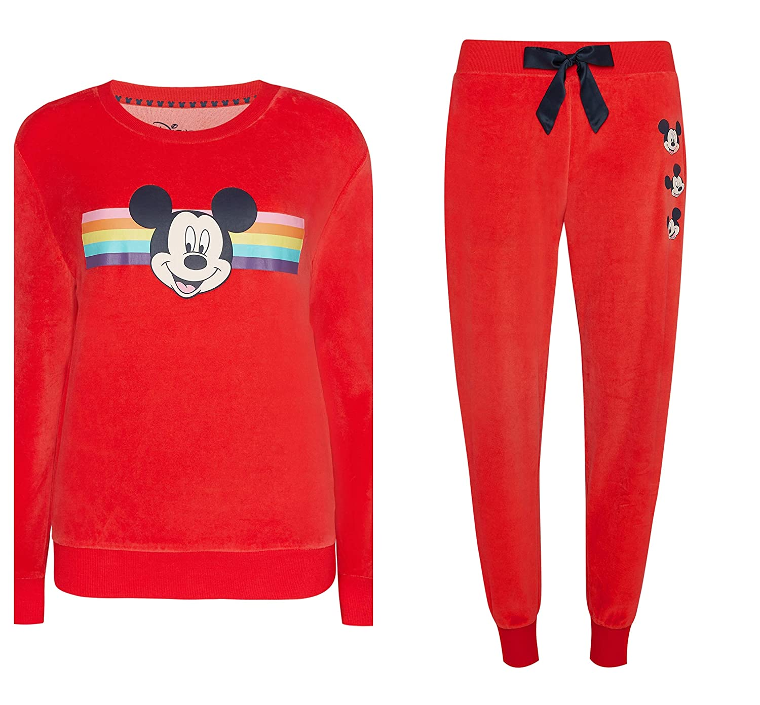 XL Disney Mickey Mouse Rosso Velluto Base XS