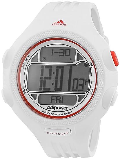 adidas Unisex ADP3132 Reloj Digital de Color Blanco y Rojo: Adidas: Amazon.es: Relojes