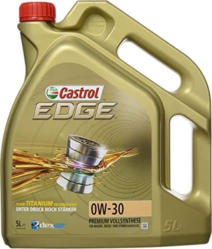 Castrol EDGE Aceite de Motores 0W-30 5L (Sello alemán): Amazon.es ...