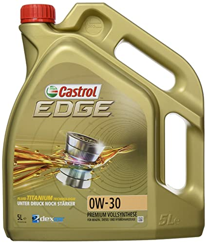 Castrol EDGE Aceite de Motores 0W-30 1L (Sello inglés)
