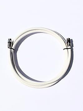 Cable coaxial digital para interiores y exteriores, montado en los Estados Unidos, conectores de