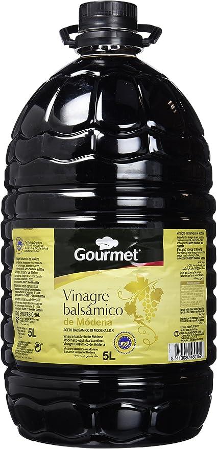 Gourmet - Vinagre Balsamico De Modena Igp 5 L: Amazon.es ...