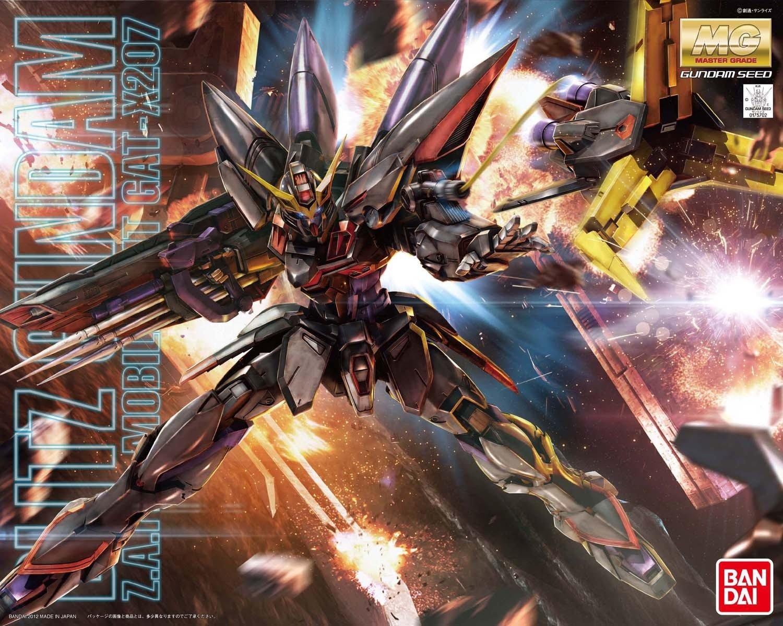 Bandai Hobby Blitz Gundam 1/100, Master Grade by Bandai Hobby (Image #4)