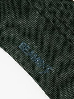 Cotton Nylon Rib Socks 21-43-0064-377: Dark Green