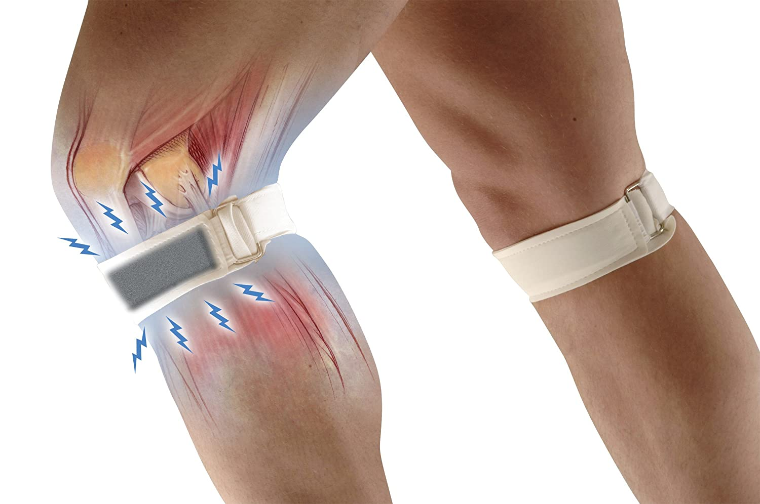 7e596935b3 AUSTRALIAN DOCTORS PATELLA MAGNETIC KNEE STRAP: Amazon.co.uk: Health & Personal  Care