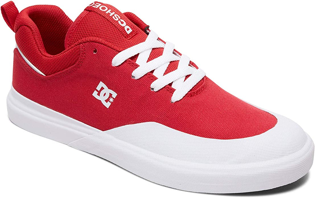 DC Shoes Infinite TX Sneakers Skateschuhe Herren Rot/Weiß