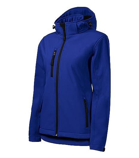 Jacket Softshell Donna Giacca Inverno Autunno Sport Fitness Resistente all/'acqua
