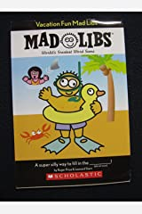 Vacation Fun Mad Libs (Mad Libs) Unknown Binding