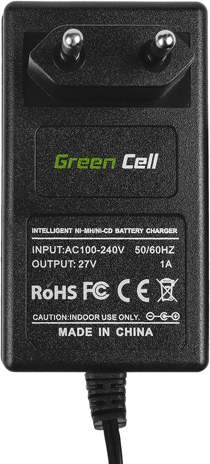 Green Cell Caricatore caricabatterie 1.2V-18V Ni-MH, Ni-Cd per Black /& Decker KC12C KC12CE KC12E KC12EK KC12GT KC12GTBK KC12GTK KC12GTKH KC12XC KC1882 KC2000F batteria