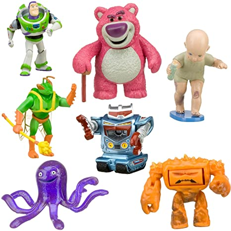 Image Unavailable. Image not available for. Color  Toy Story 3 Exclusive  Villains 7Pack Figurine Playset Buzz Lightyear 58396a6a578