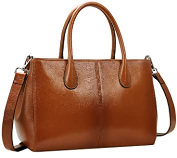 36a6845f6822 Buy Iswee Women s Designer Purses and Handbags Ladies Top Handle Tote Bags  Satchel Shoulder Bags (Sorrel) Online at Low Prices in India - Amazon.in