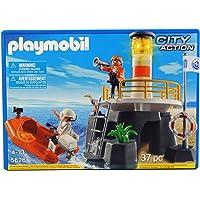 Playmobil - Playmobil 5626. Faro con balsa