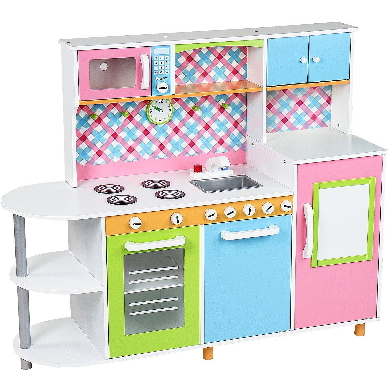 Holz Kinderküche Infantastic bunte Spielküche