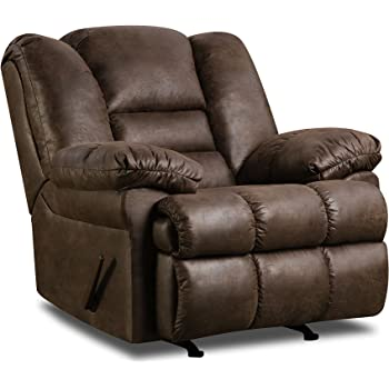 Amazon Com Simmons Brown Leather Over Sized Massage