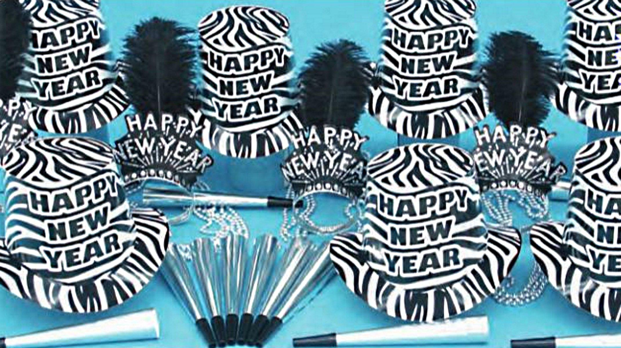 Zebra Party Kit for 50 by PTMFG