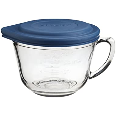 Anchor Hocking 2 Quart Glass Batter Bowl With Lid (81106L11)