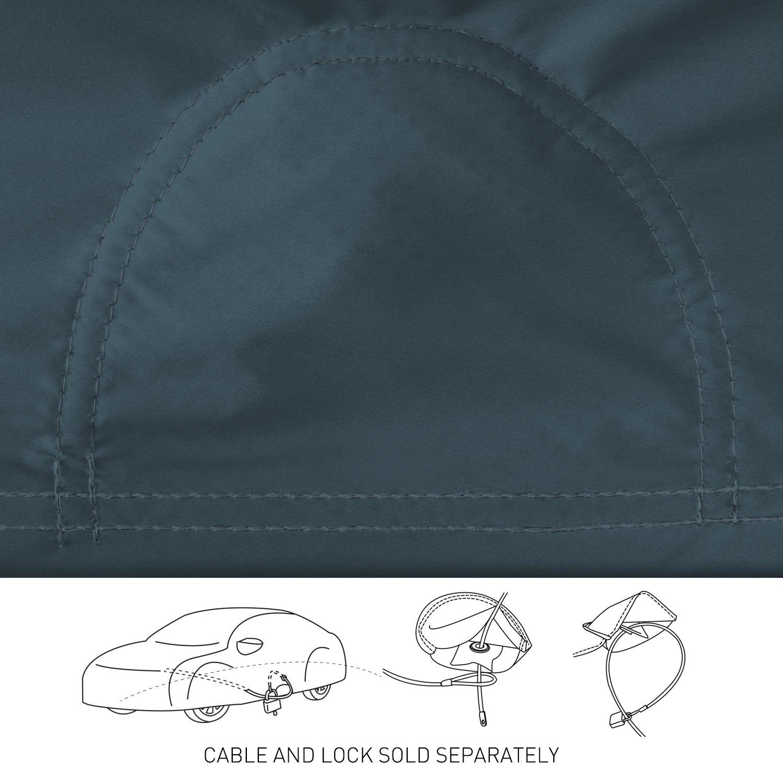 White Coverking Custom Fit Car Cover for Select Chevrolet Kingswood Models Stormproof