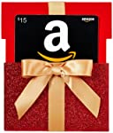 Amazon.ca Gift Card in a Red Reveal (Classic Black Card Design)