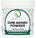 Gomma Arabica o d'Acacia Special Ingredients 100 gr qualità premium (etichette ed istruzioni in italiano)