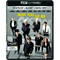 Now You See Me [4K Ultra HD + Blu-ray + Digital Copy]