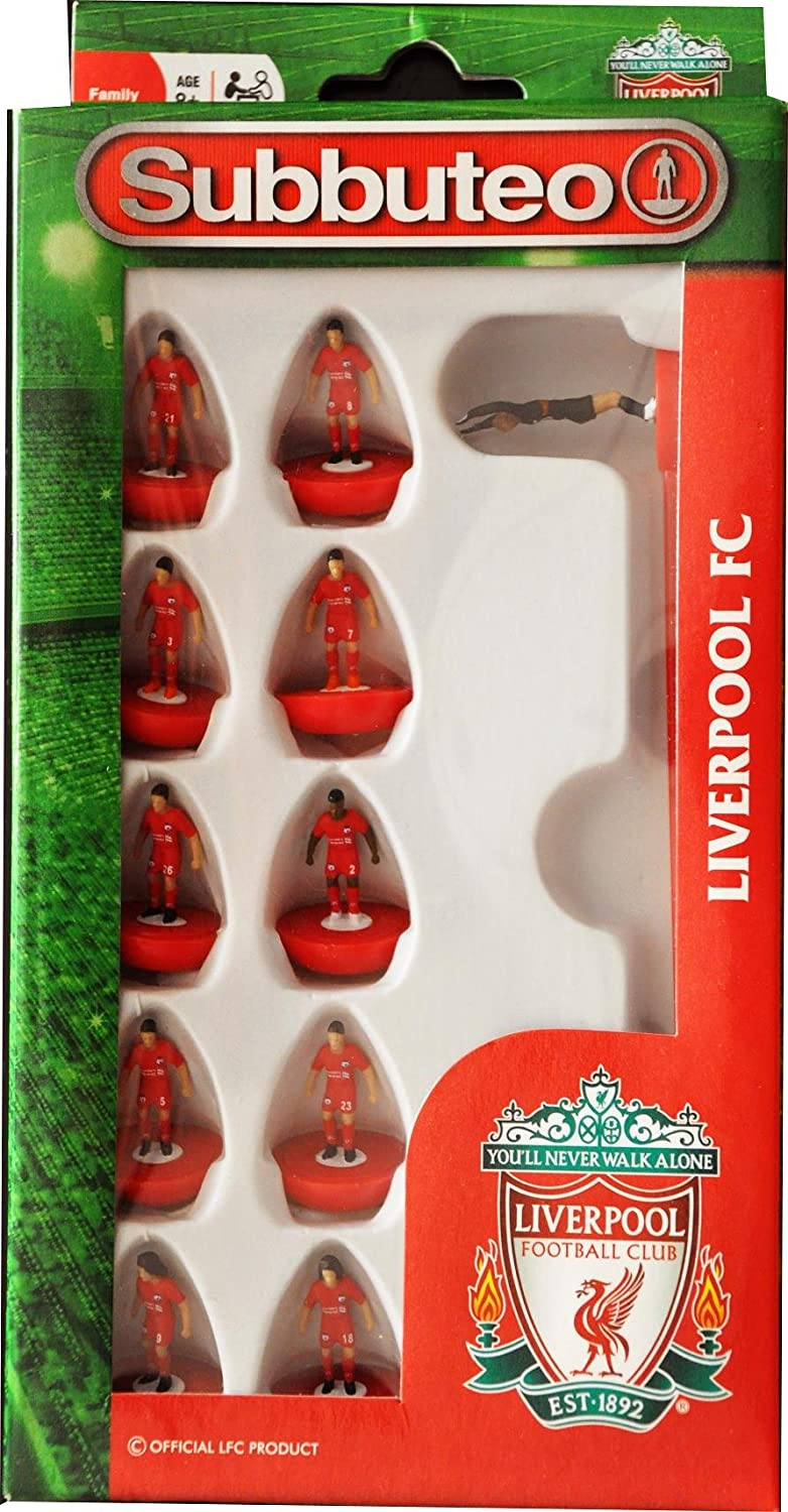 Subbuteo Team Box Liverpool FC: Paul Lamond Subbuteo Liverpool Team Set: Amazon.es: Deportes y aire libre
