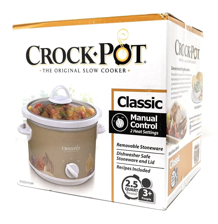 Limited Edition Classic Crock Pot Slow Cooker 2.5 Quart (Pumpkin)