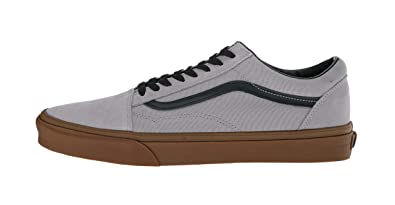 15468cd0ea7 Image Unavailable. Image not available for. Color  Vans VN-0A38G1U40  Mens  Old Skool Alloy Black Gum Sneakers ...
