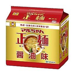 マルちゃん正麺醤油味 5P