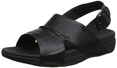 Mens Sling Perf Leather Open-Toe Sandals FitFlop WtCoa6