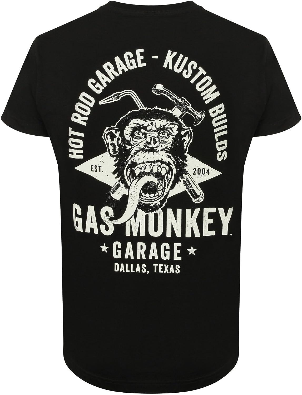 Gas Monkey Garage T-Shirt Side Monkey GMGTS02646