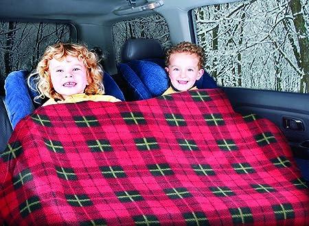 "Heated travel Blanket 42x58/"" 8 feet long 12 Volt Comfy Cruise 100/% poly fleece"