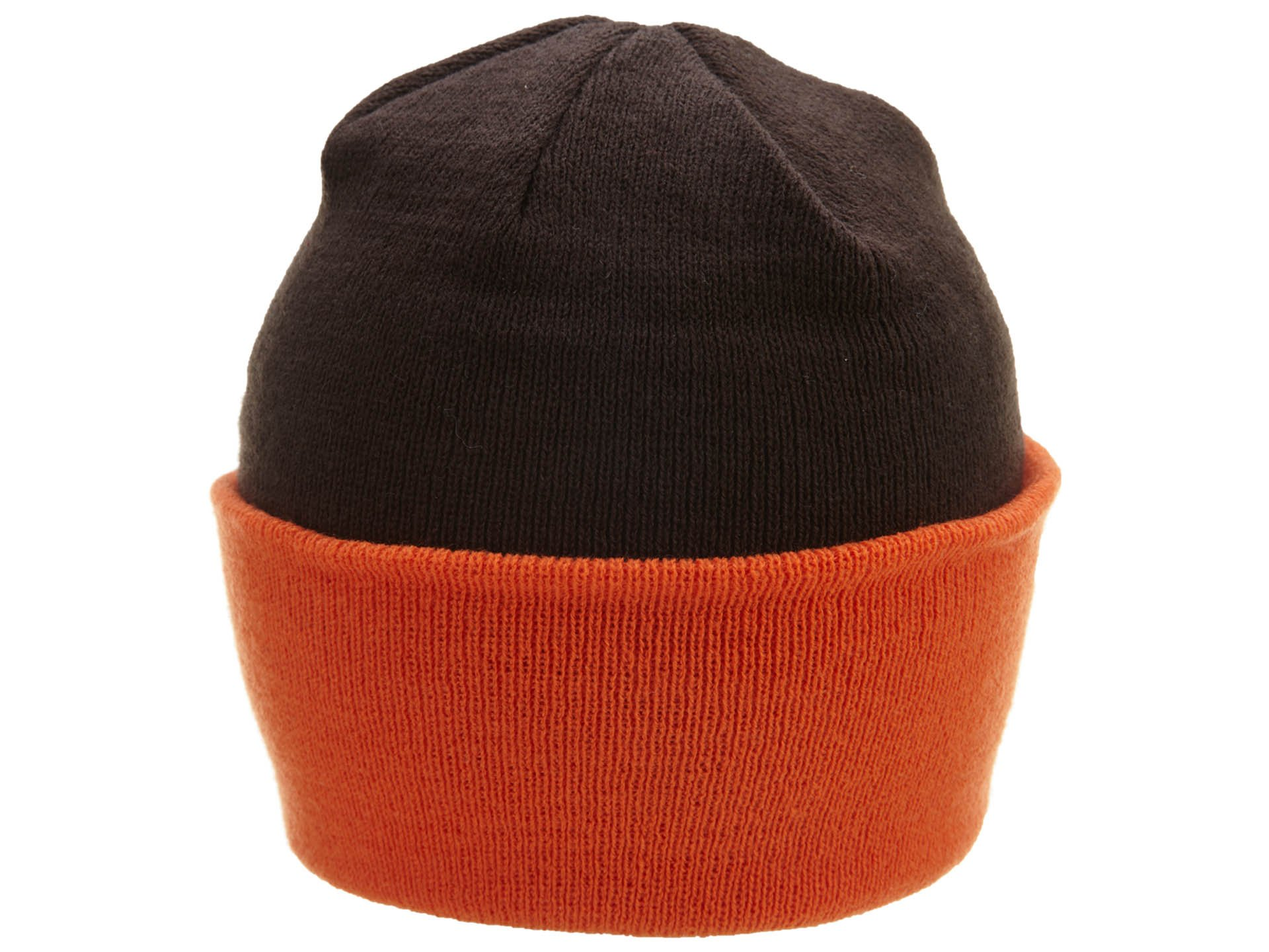 NFL End Zone Cuffed Knit Hat - K010Z, Cleveland Browns, One Size Fits All by Reebok (Image #2)