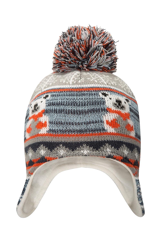 Mountain Warehouse Polar Bear Junior Knitted Kids Hat Azul Marino Talla única 025524034001