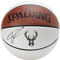 $212 » Giannis Antetokounmpo Milwaukee Bucks Autographed White Panel Basketball - Fanatics Authentic Certified