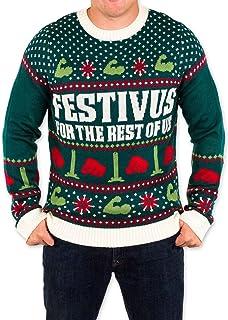 Merry Festivus Ugly Christmas Sweatshirt Ttd1 pFHEQb3h