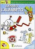 Imparo l'alfabeto. Primi albi didattici. Con adesivi